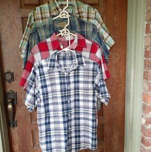 Boys Short Sleeve button up Shirt